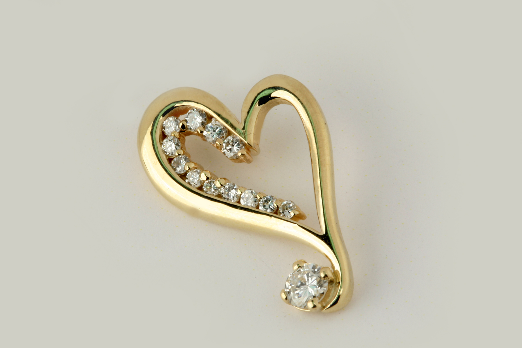 goudsieraad hartvorm